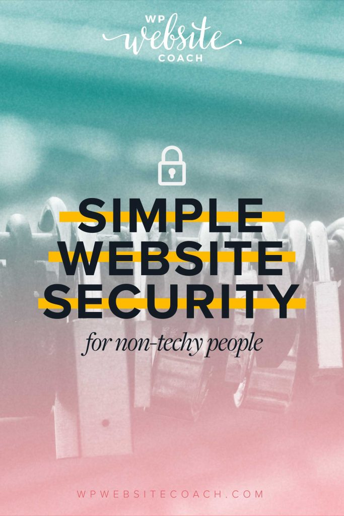Simple website security