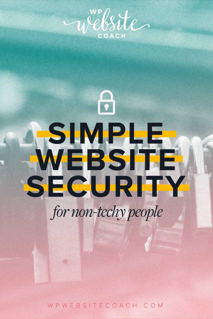 Simple website security