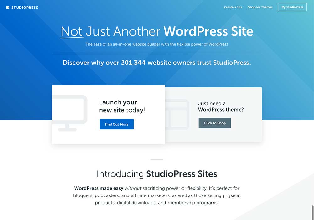 StudioPress Sites – A First Look