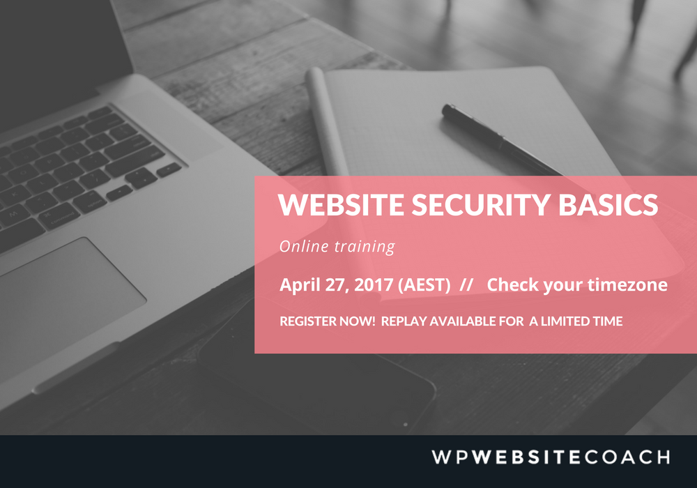 Website Security Basics